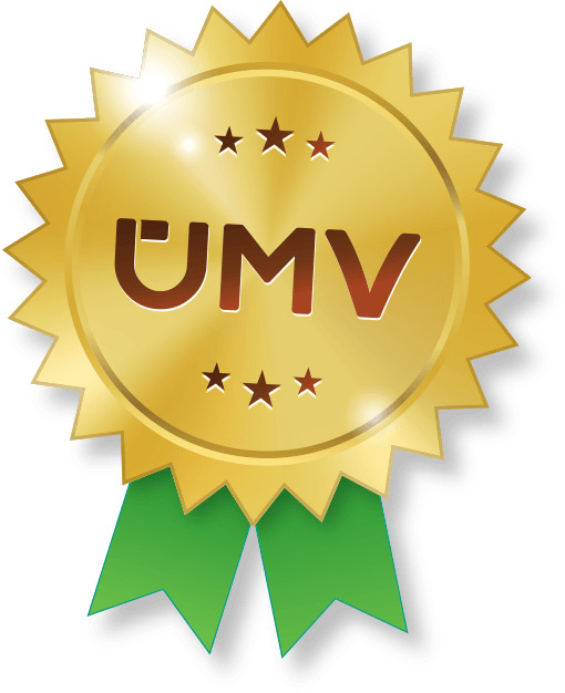 UMV badge